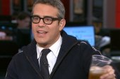 Andy Cohen makes big announcement, drinks...