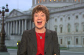 Best hope is with 14 senators: Susan Collins