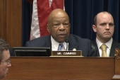 Rep. Cummings: Please do not shut my mic down