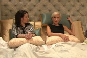 Mika has a chat in bed with 'Curb Your...