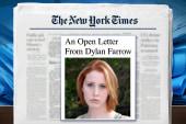 Mika: I believe Dylan Farrow's story