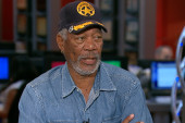 Morgan Freeman: Some questions have faith...