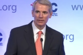 Conservative Sen. Rob Portman now supports...