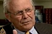 Rumsfeld avoids question about Iraq War