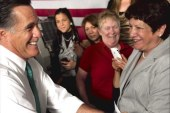 Romney courts women voters, but will he...