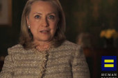 Hillary now in favor of marriage equality;...