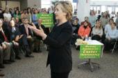 Hillary headed to Iowa