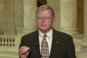 Inhofe: Allow soldiers to be armed on base