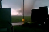 Karins: Listen to the sound of the tornado...
