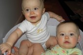 Alex Korson's twin babies turn one