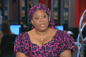 Liberian peace activist: Anger helped...