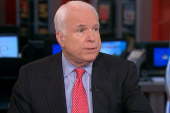 McCain: People don't bring mortars to...