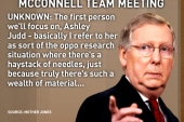 McConnell says liberals bugged office, but...