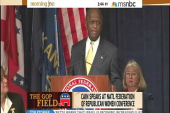 Cain takes home GOP women straw poll win