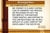 Romney's finances portraying him as 'out...