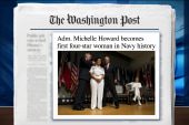 US Navy names first four-star female admiral