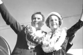 Love letters between Nixon and his wife go...