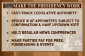 Making the presidency work