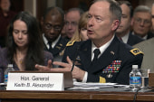 NSA chief defends surveillance programs