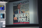 Which tabloid had the best Weiner headline?