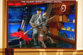 Colbert recreates Revere's ride Palin style