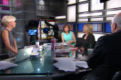 Mika Brzezinski and Diane Smith on their...