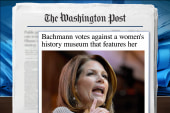 Michele Bachmann opposes D.C. women's museum