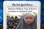 Missing Nigerian girls located: military