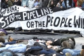 Hundreds arrested at Keystone XL protest