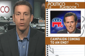 Is Santorum's campaign coming to an end?