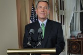 Boehner finds himself at the will of the...