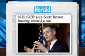 Scott Brown set to explore New Hampshire