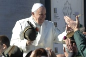 Pope Francis travels to Middle East