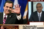Robinson: I didn't question Christie's...