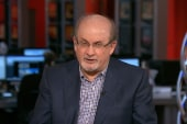 Rushdie on award, 'Satanic Verses' history
