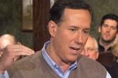Santorum: First two or three primaries won...