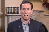Santorum: Romney is a big government...