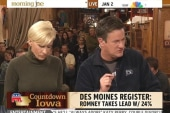 Scarborough: If Romney wins Iowa, it's over