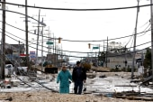Scarborough: Sandy relief a 'strange place...
