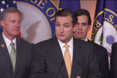 Cruz faces GOP backlash for leaving...