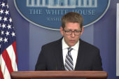 Transparency and talking points in the WH