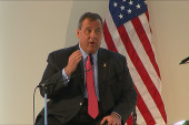What toll must Christie pay if he runs?