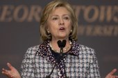 Hillary takes on media 'double standard'