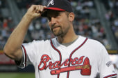 Pitcher John Smoltz reflects back on his...