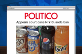 NYC appeals court strikes down soda ban