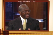 Cain discusses harassment allegations on...