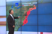 Hurricane Irene continues path up East Coast