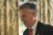 After gaining 17 percent in NH, Huntsman...