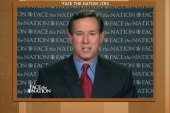 Is Santorum making a mistake questioning...