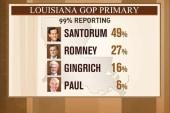Halperin: Santorum still has to beat...